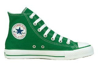 Celtic Green Chuck Taylor Shoes